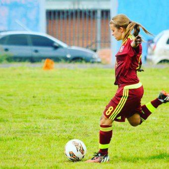 El fútbol ha sido más allá que un deporte: Génesis Garrido, jugadora de la selección venezolana sub20.