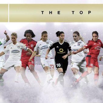 Jugadoras de Lyon dominan nominación a Premio de la UEFA