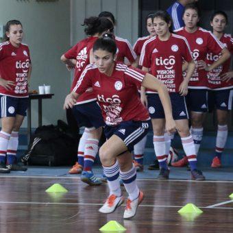 Paraguay presenta sus convocadas para el Sudamericano Femenino Sub-20 de Futsal