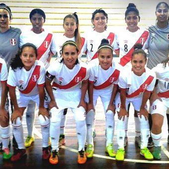 Convocatoria de Perú para Sudamericano Sub-20 Femenino de Futsal en Paraguay