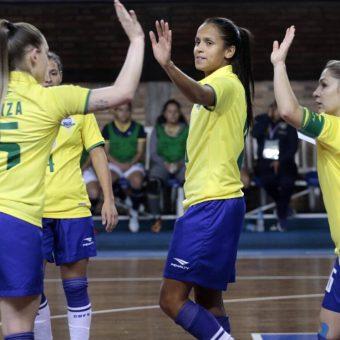 Brasil goleó, Bolivia sorprendió y Paraguay respetó su casa en el Sudamericano Sub-20 de Futsal