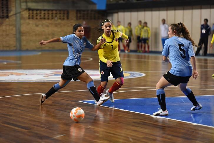 Brasil y Colombia jugarán la gran final del Sudamericano Sub-20 de Futsal Femenino