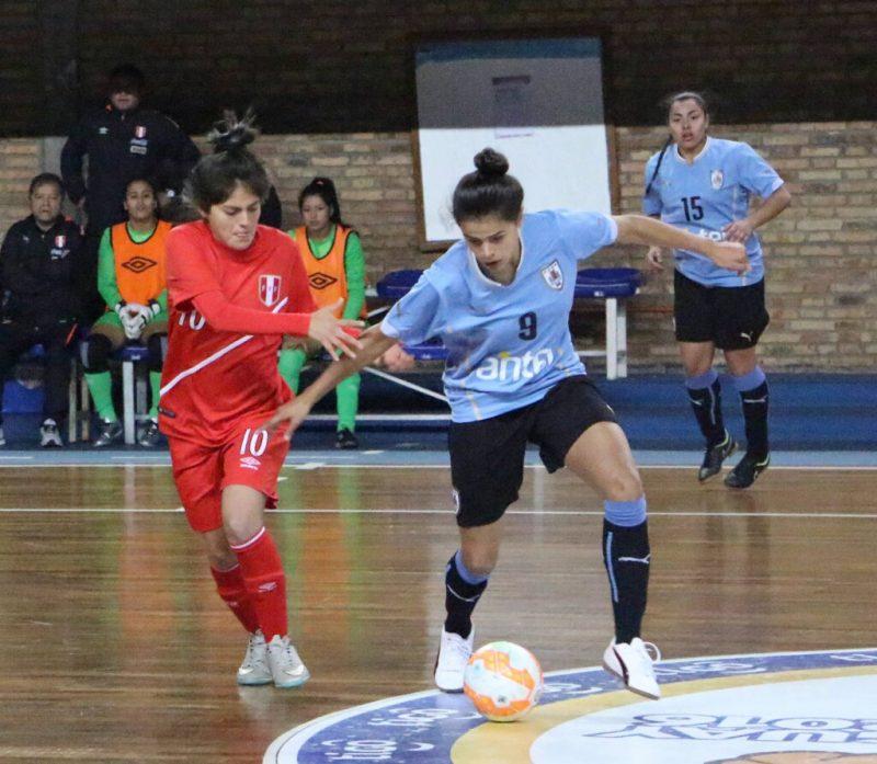 Semifinales al rojo vivo en el Sudamericano Sub-20 de Futsal Femenino