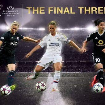 Hegerberg, Marozsan y Henry, las 3 finalistas a mejor jugadora europea