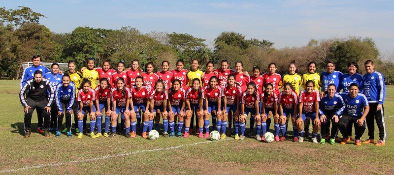 La Selección de Paraguay Sub 17 se sigue preparando para el Mundial de Jordania.