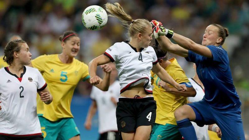 Australia por poco vence a Alemania en Río 2016