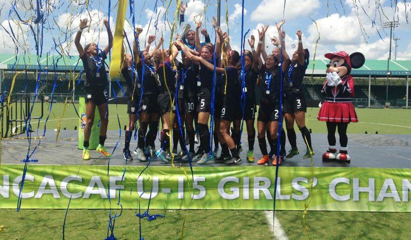 Estados Unidos se corona campeón del Torneo Sub-15 de CONCACAF