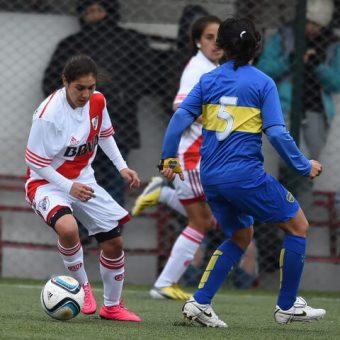 Laura Romero, la paraguaya que cautiva a River Plate