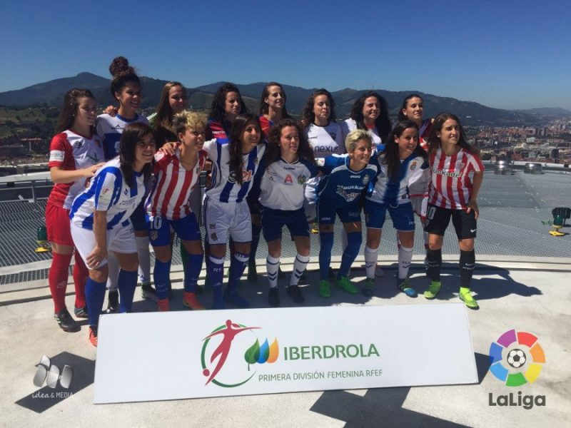Fue presentada la 'Liga Iberdrola' en Bilbao