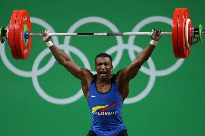 Óscar Figueroa, primera medalla dorada en Rio 2016 para Colombia