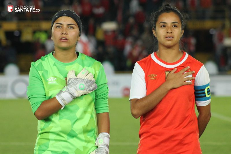 Santa Fe Femenino hizo su debut en El Campín frente a sus nuevos seguidores