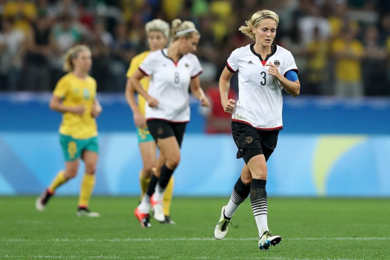 Saskia Bartusiak anunció su retiro de la selección alemana