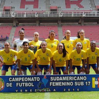 Brasil definió las convocadas para el Mundial de Jordania Sub 17