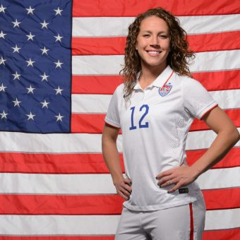 Lauren Holiday, ex Jugadora de los Estados Unidos diagnosticada con un tumor cerebral.