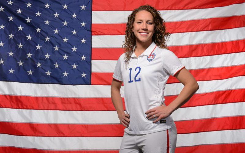 Lauren Holiday, ex Jugadora de los Estados Unidos diagnosticada con un tumor cerebral.