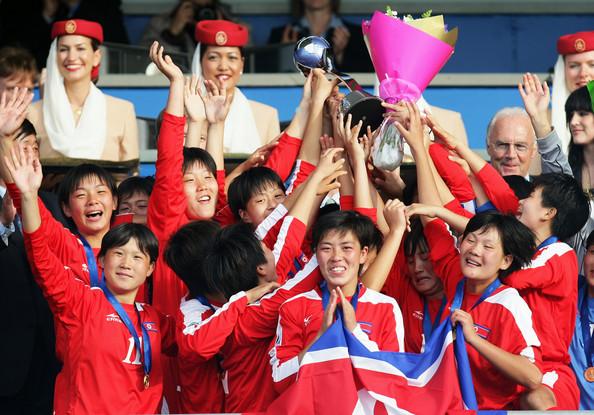 Corea del Norte, primer campeón del Mundial Femenino Sub-17 de 2008