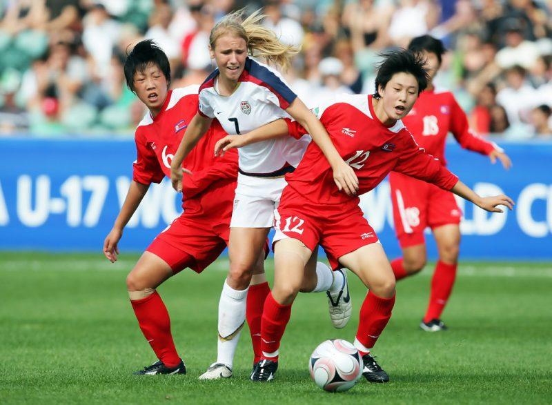 Mundial Femenino Sub-17 Nueva Zelanda 2008: Dominio norcoreano de principio a fin