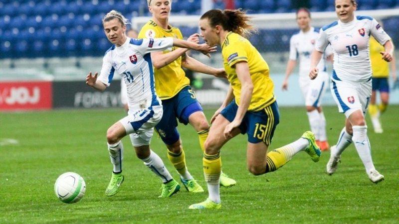 Suecia aseguró su clasificación a la Eurocopa Femenina 2017