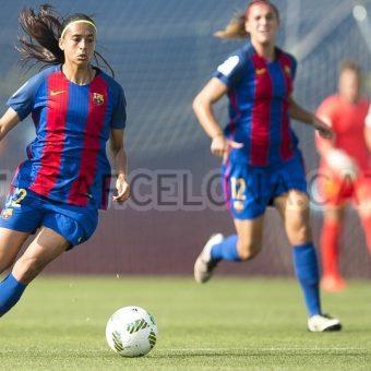 Barcelona es líder de la Liga Iberdrola por un gol de diferencia
