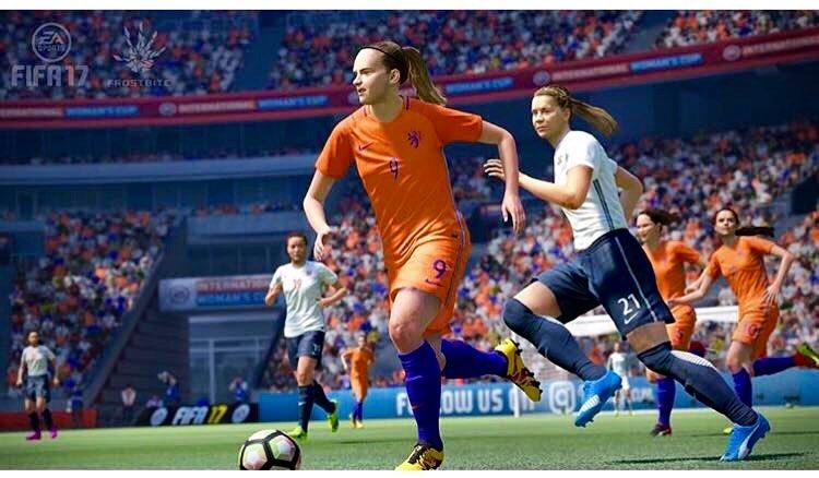 Las novedades del Fútbol Femenino en FIFA 17