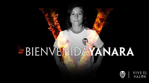 La chilena Yanara Aedo, nueva jugadora del Valencia CF.