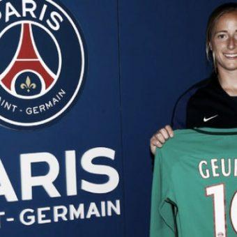 Loes Geurts firmó contrato con Paris Saint-Germain hasta 2018