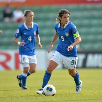 Patrizia Panico entrenará la selección masculina Sub-16 de Italia