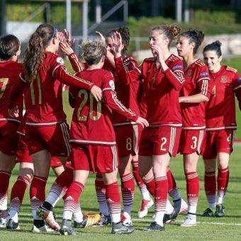España convoca 18 jugadoras para últimos partidos clasificatorios a la Eurocopa 2017