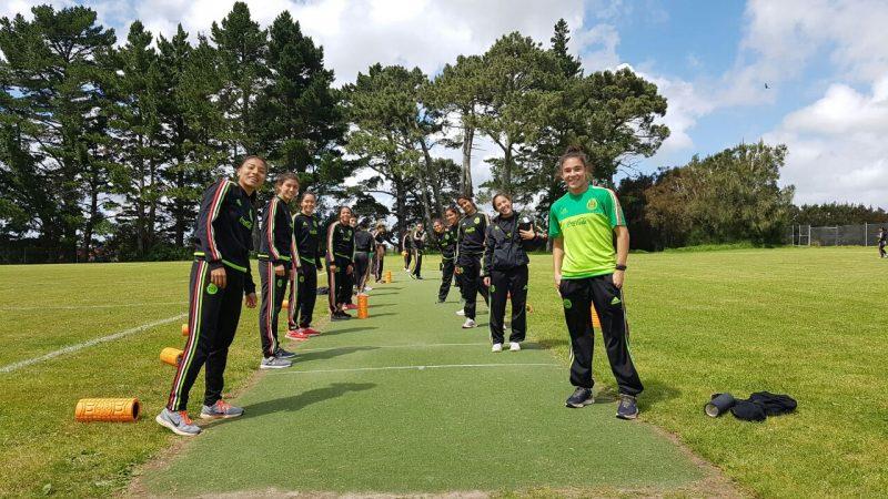 La selección de México sub-20 se prepara en Nueva Zelanda.