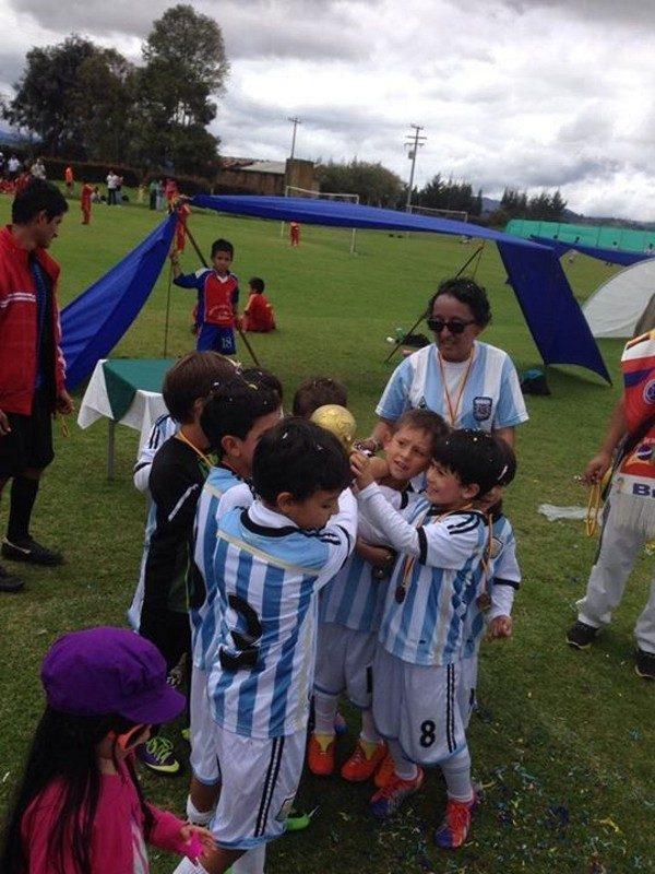 All Boys infantil y juvenil Bogotá.
