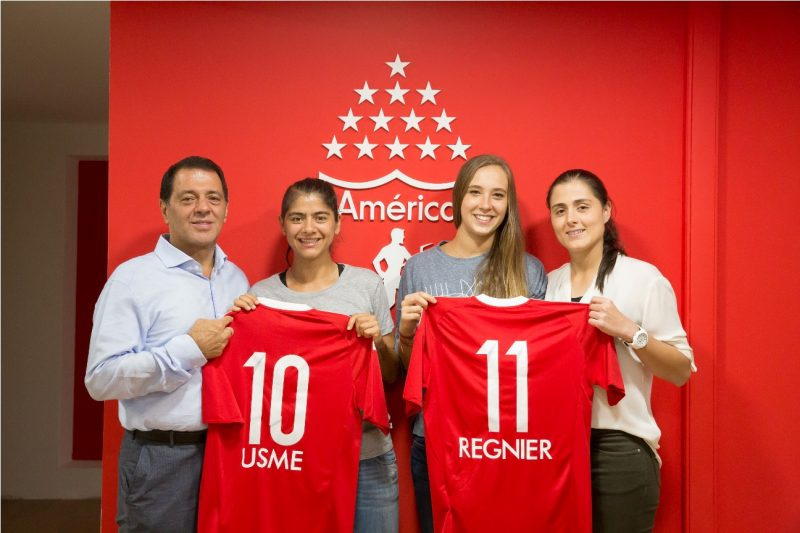 Catalina Usme se une al América de Cali para la liga femenina de 2017