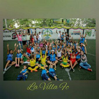 La Villa FC formamos con amor