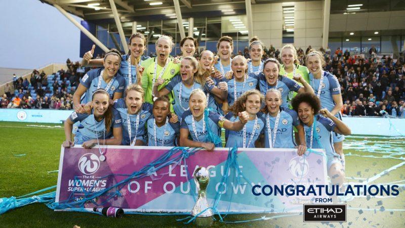 Manchester City doblemente campeón en Inglaterra