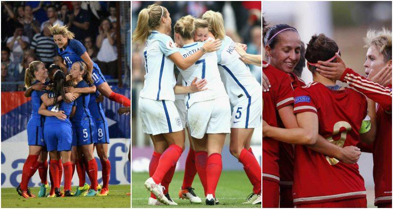 Francia, Inglaterra y España inician su preparación hacia la Eurocopa