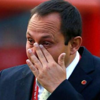 Dejó no, fue despedido. Felipe Taborda