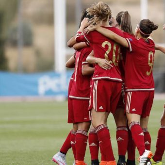 La selección de España prepara amistoso contra Francia.