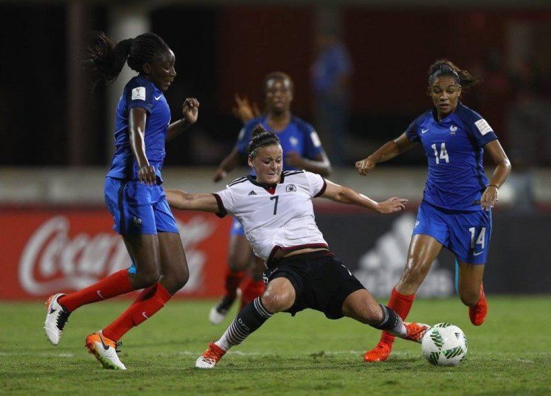Francia saca del camino a Alemania en el Mundial Femenino Sub-20