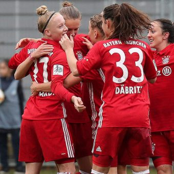 Bayern Múnich lidera temporalmente la Bundesliga Femenina