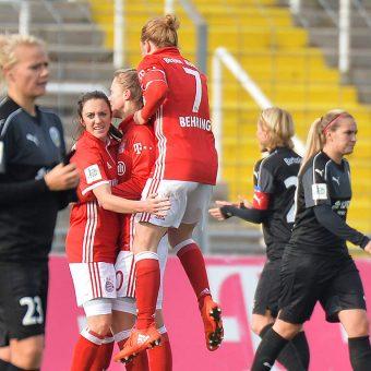 Bayern Múnich es el nuevo segundo de la Bundesliga Femenina alemana