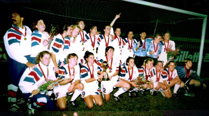 25 años del primer mundial femenino obtenido por Estados Unidos