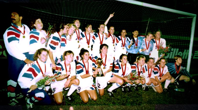 Resultado de imagen para estados unidos campeon 1991 femenino