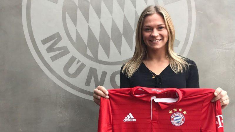 Fridolina Rolfö se unirá al Bayern Múnich a partir de 2017