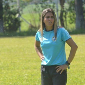 La flamante entrenadora de Brasil fue presentada