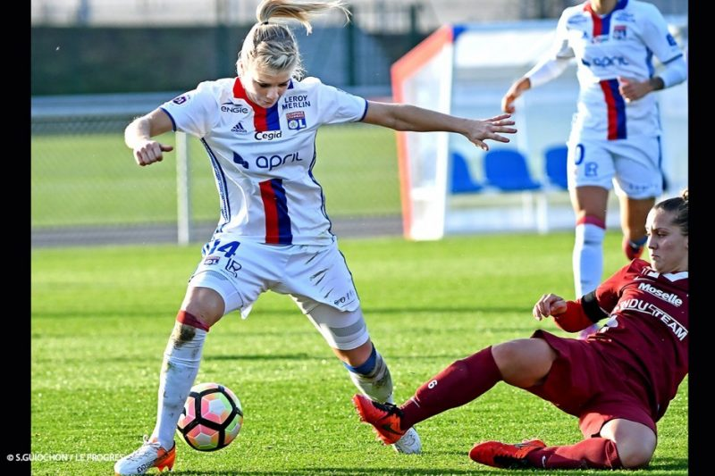 Lyon y PSG mandan en la División 1 de Francia