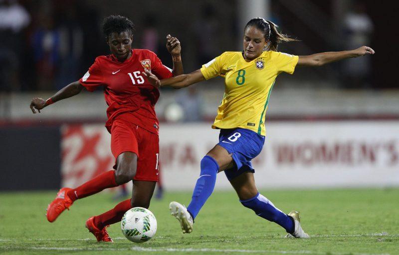 Brasil inaugura el Mundial Femenino Sub-20 con goleada al anfitrión
