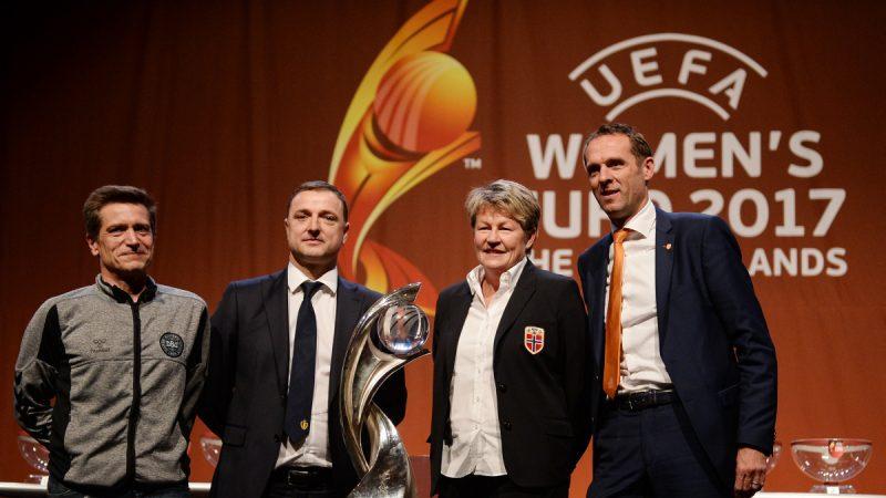 España quedó instalado en el Grupo D de la Eurocopa Femenina 2017