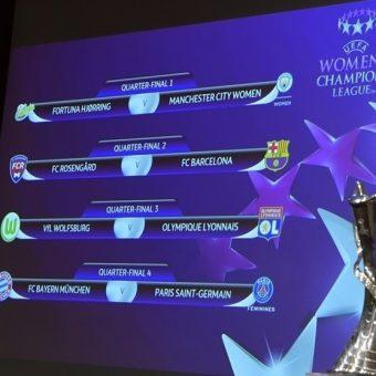 Wolfsburgo y Lyon reeditarán la final pero en cuartos de la Champions League Femenina