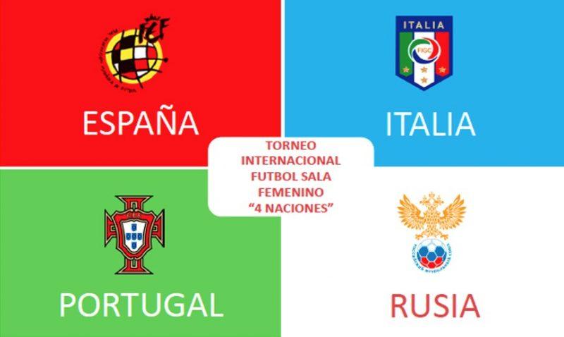 España organizará Torneo de Futsal Femenino 4 Naciones