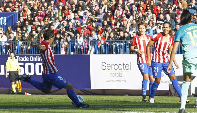 Atlético de Madrid cierra el 2016 como líder de la Liga Iberdrola