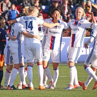 Lyon vence a Montpellier y aguarda a PSG en la D1 Femenina de Francia